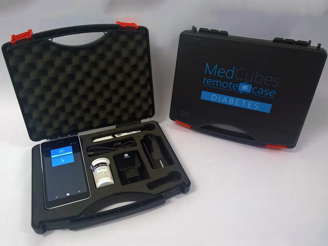 MedCubes RemoteCase for diabetes